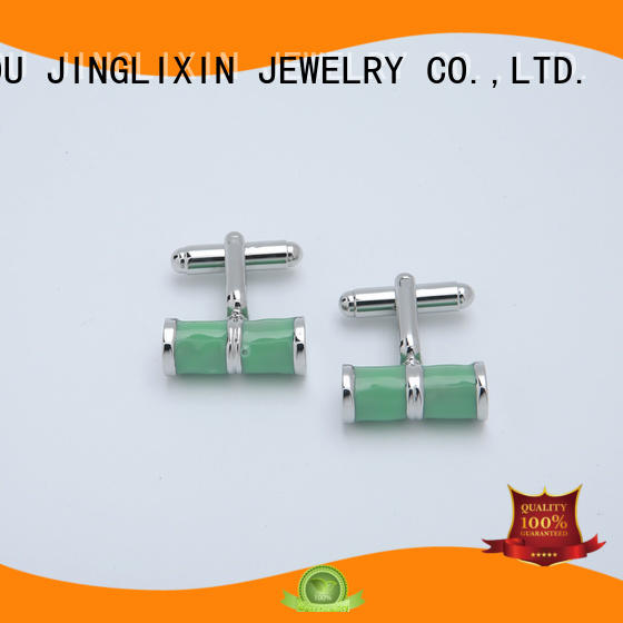 JINGLIXIN silk gold napkin rings in bulk steel plated cufflinks for sale