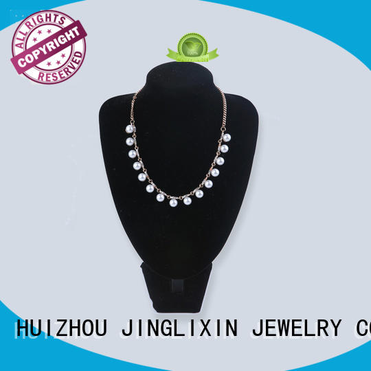 JINGLIXIN swarovski fashion necklaces manufacturer for guys