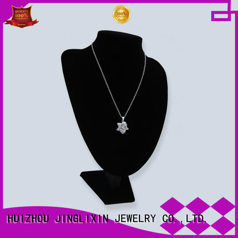 JINGLIXIN Brand necklace plated custom rhinestones necklace