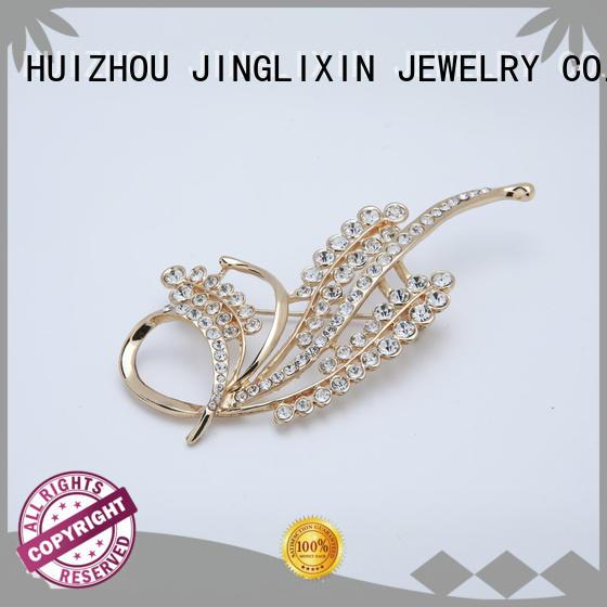 hardware jewelry steel plated cufflinks for women JINGLIXIN