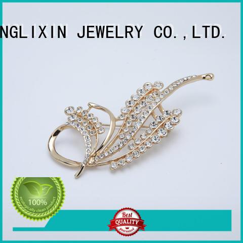 silk fashion jewelry accessories broachfor party