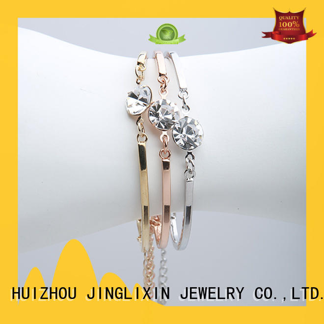 kids semi-precious stones bracelet manufacturer for sale JINGLIXIN