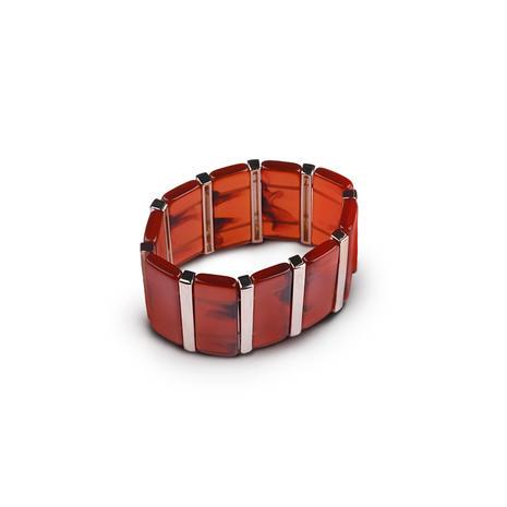 Amber vintage bracelet