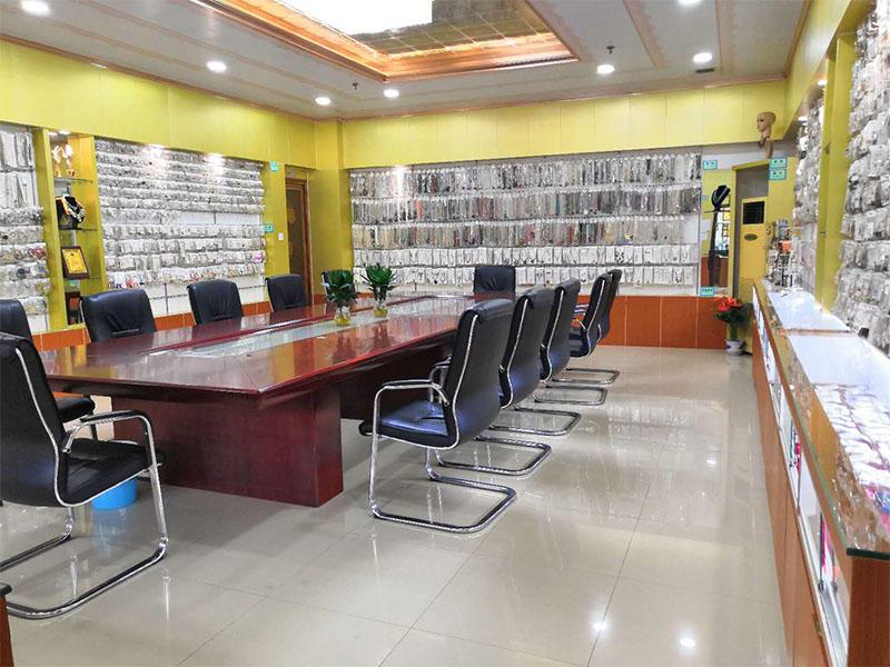 Sample display room