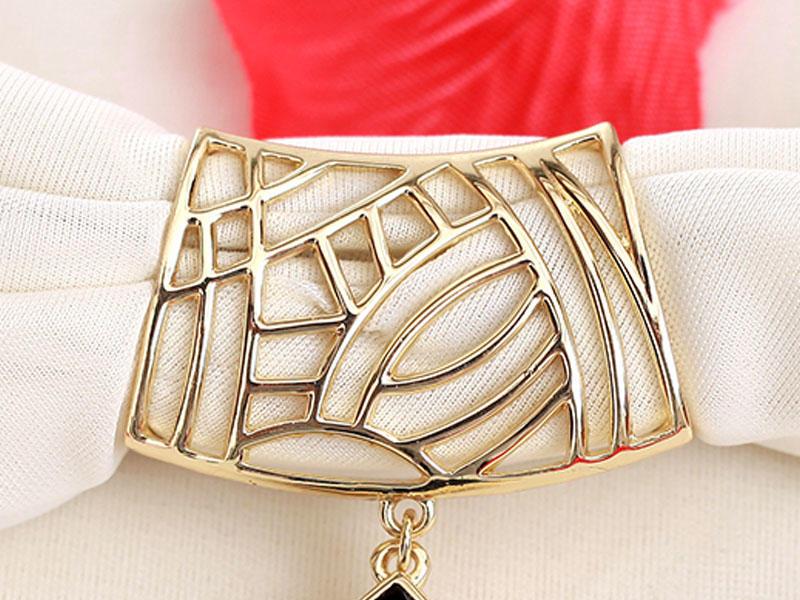 hardware jewelry glod fashion scarf Warranty JINGLIXIN