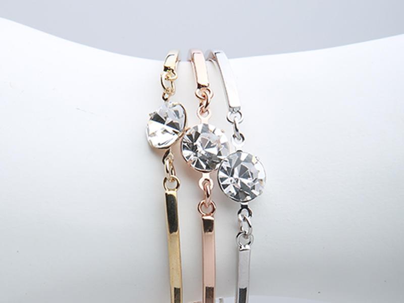 custom bracelet tricolor opal Warranty JINGLIXIN