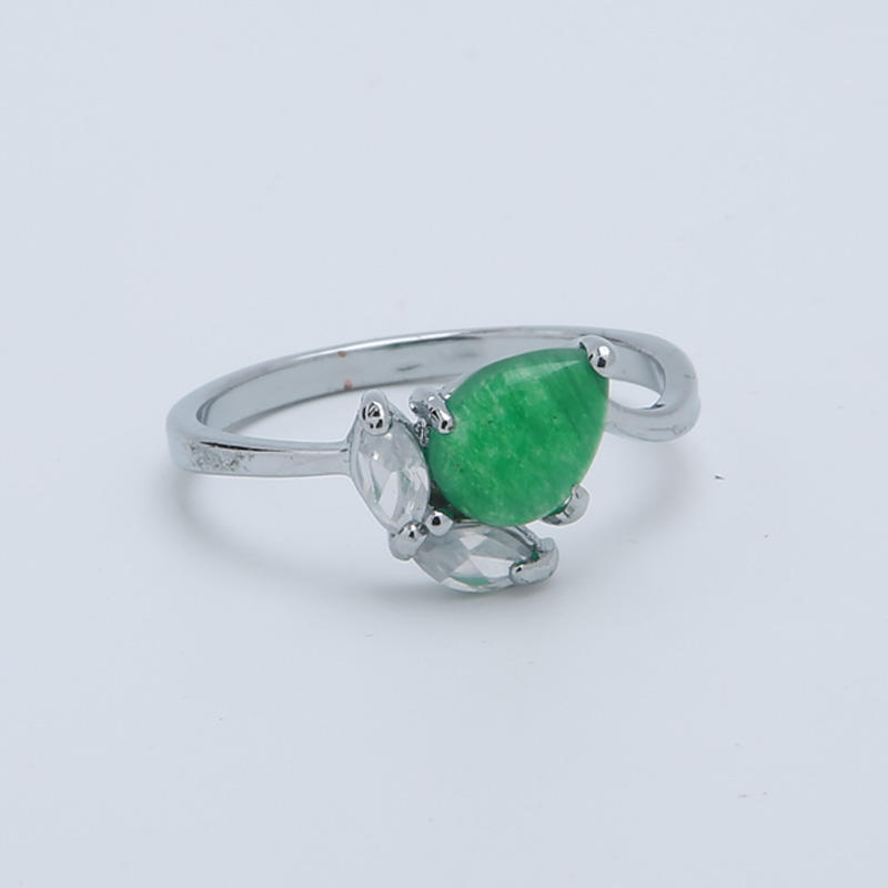 Custom 925 silver Semi-precious stone  ring