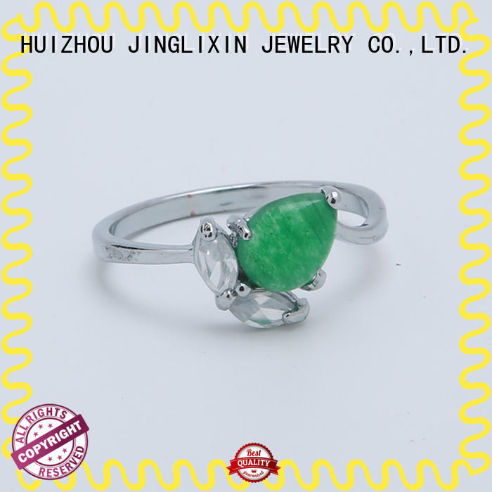 gold unique diamond rings oem service for present