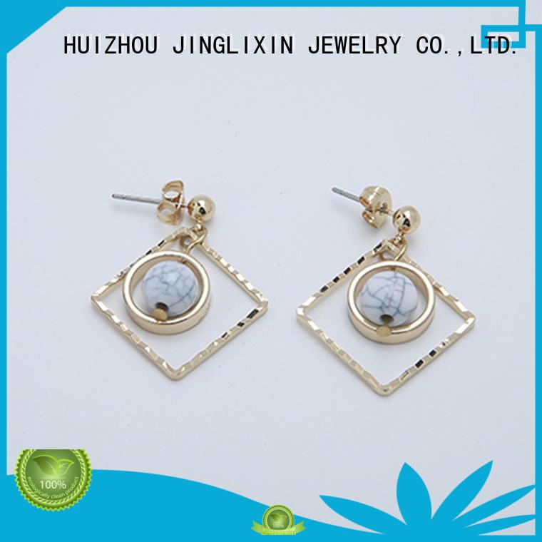 czech zircon rhinestones earrings earrings JINGLIXIN company
