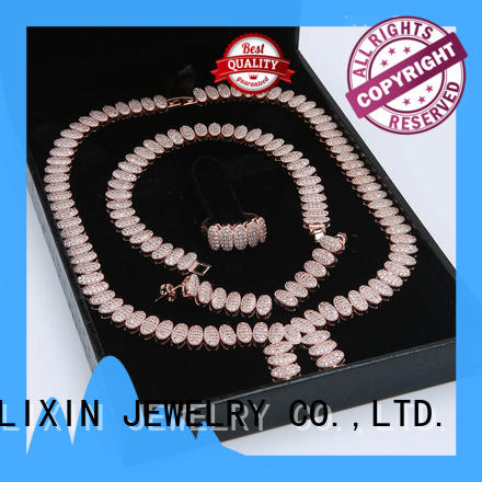 bridal jewelry sets stone for sale JINGLIXIN