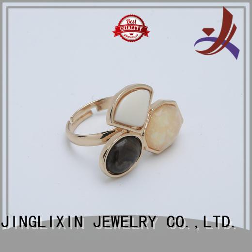 Hot custom ring gold JINGLIXIN Brand