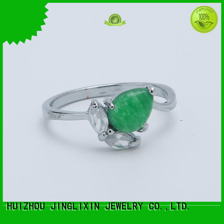 JINGLIXIN custom made rings oem service for present