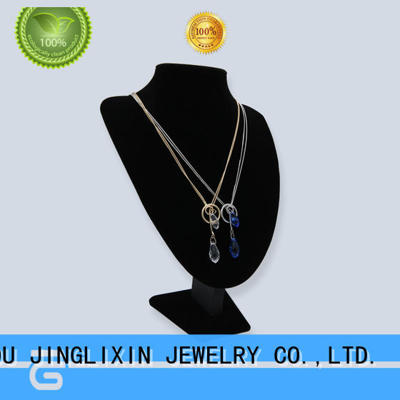 abs beads gold jewellery necklace factory for wife JINGLIXIN