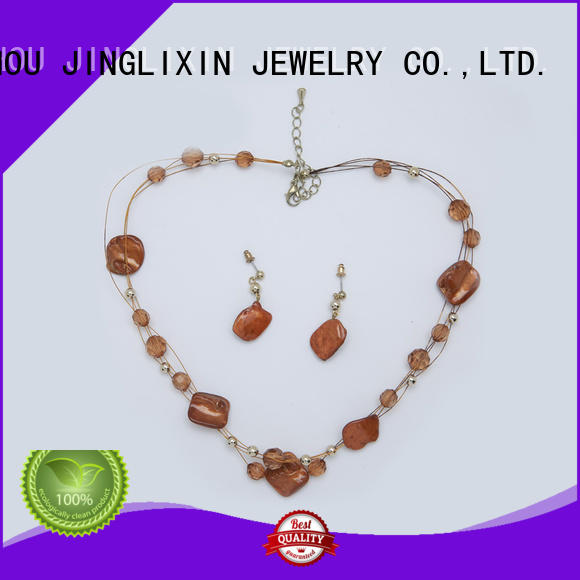 JINGLIXIN white gold jewelry sets hardware for party