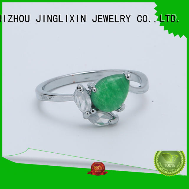 silver fashion rings manufacturer for sale JINGLIXIN