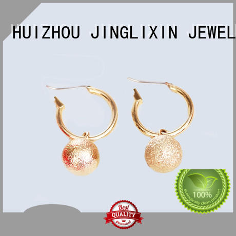 rhinestones earrings crylic Bulk Buy alloy JINGLIXIN
