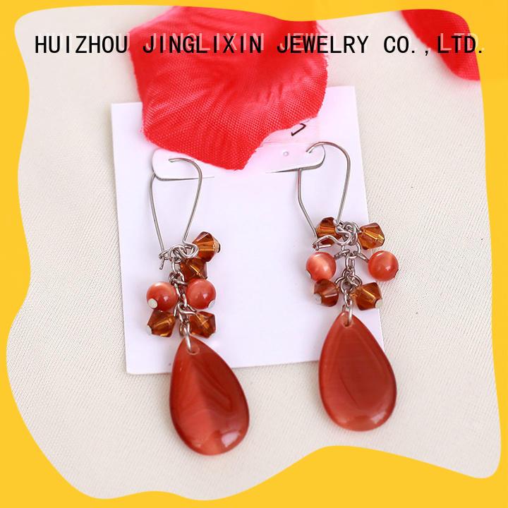 chandelier crystal earrings hot sale for sale JINGLIXIN