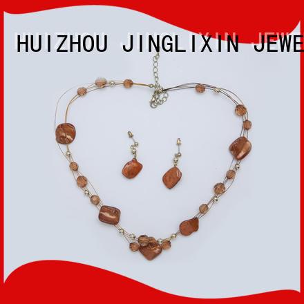 bridesmaid jewelry sets custom design in beautiful gift box JINGLIXIN