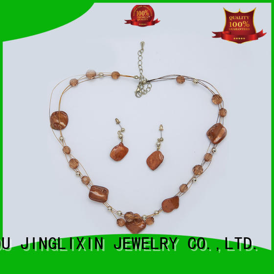 pearl jewelry sets hot sale for present JINGLIXIN