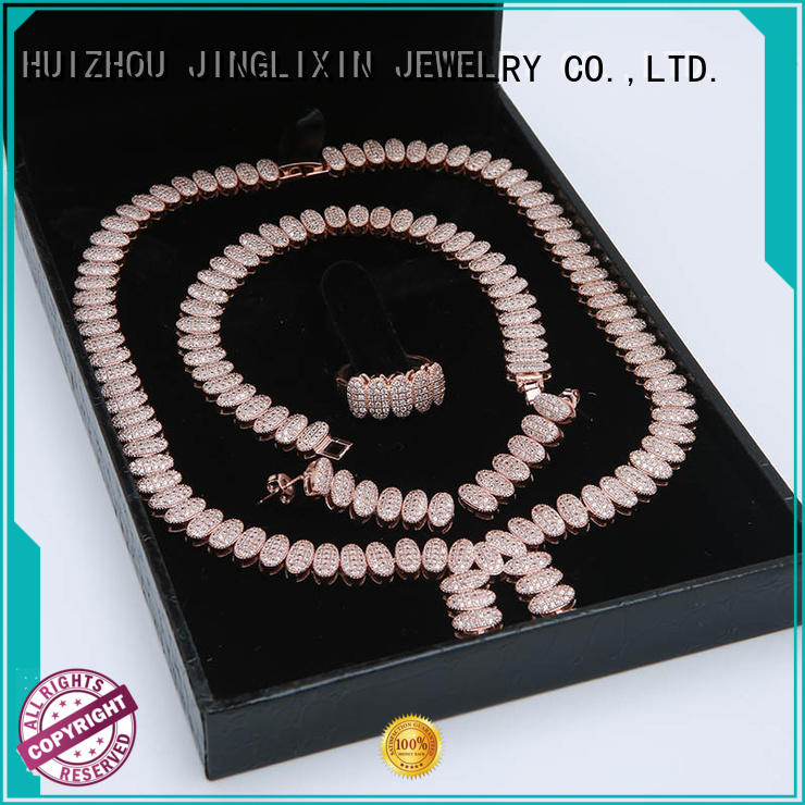 JINGLIXIN plated cosmetic jewelry sets for party