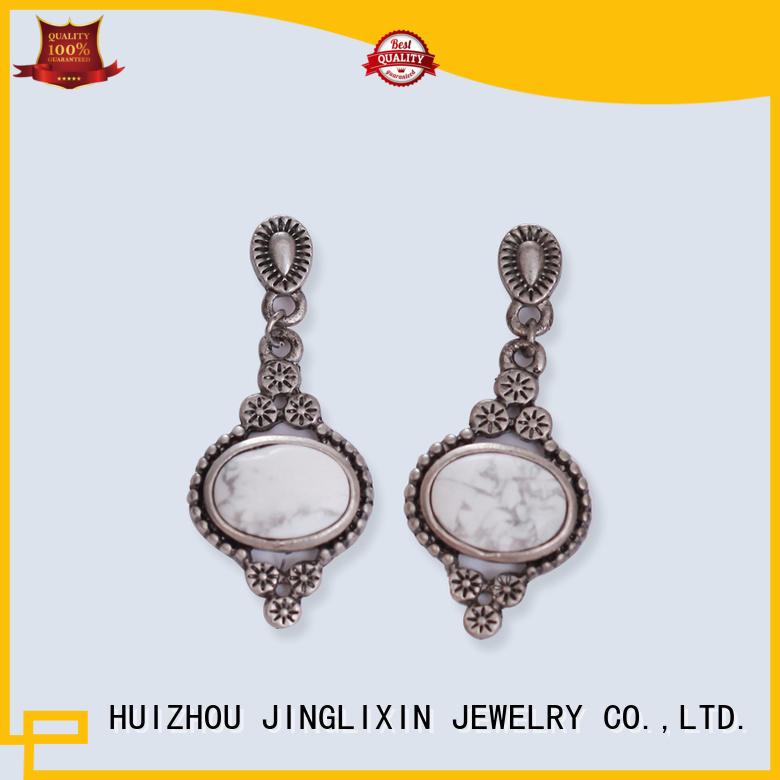 shrimp shaped design earrings oem service for ladies