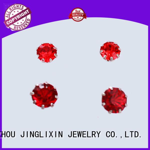hot sale copper earrings odm service for ladies JINGLIXIN