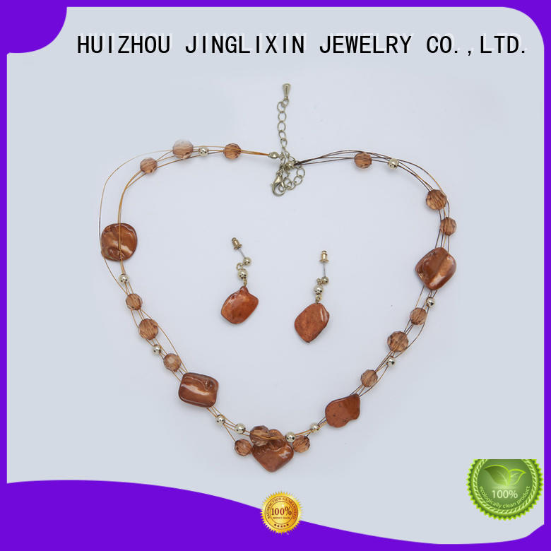 JINGLIXIN new style pearl jewelry sets factory for party