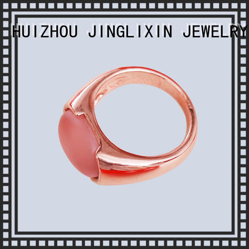 gold fashion jewelry rings oem service for women
