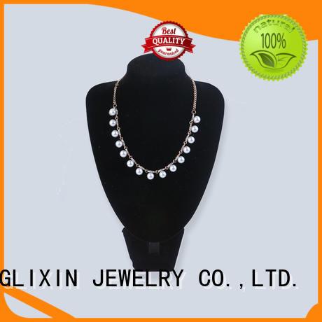 JINGLIXIN semiprecious customize necklace stone for wife