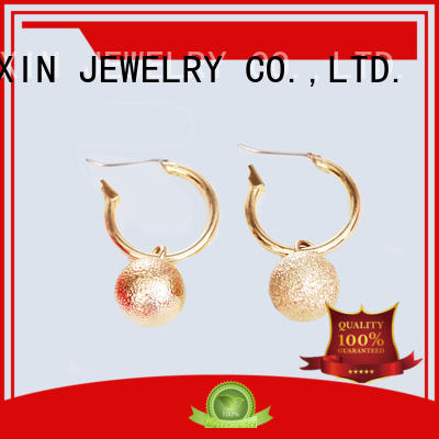 JINGLIXIN mattebeads fashion earrings with name for women