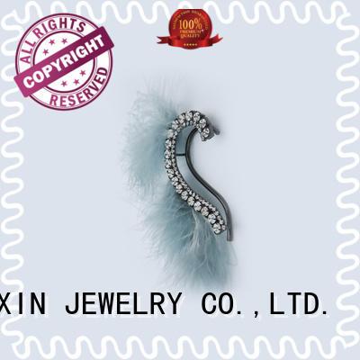 zircon custom earrings odm service for sale