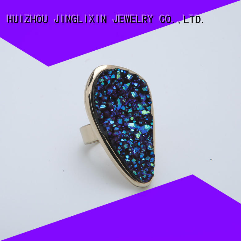 hot sale couple rings round for sale JINGLIXIN