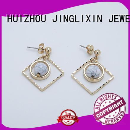 JINGLIXIN gold fashion earrings supplier for concerts