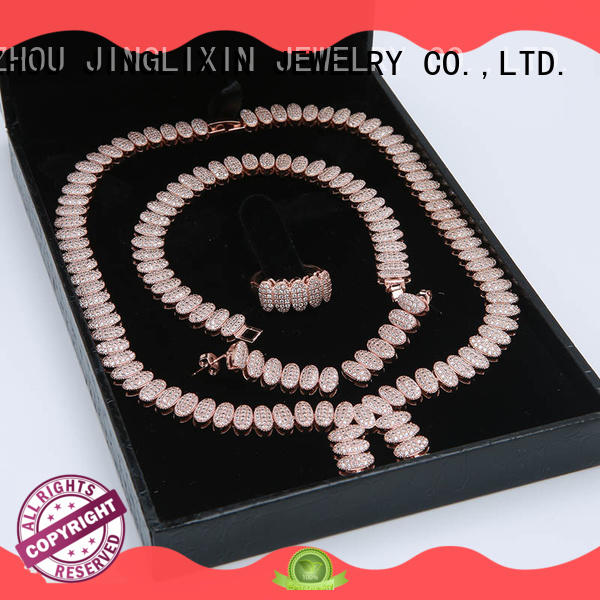 JINGLIXIN shellmaterial fashion jewelry sets cheap for party