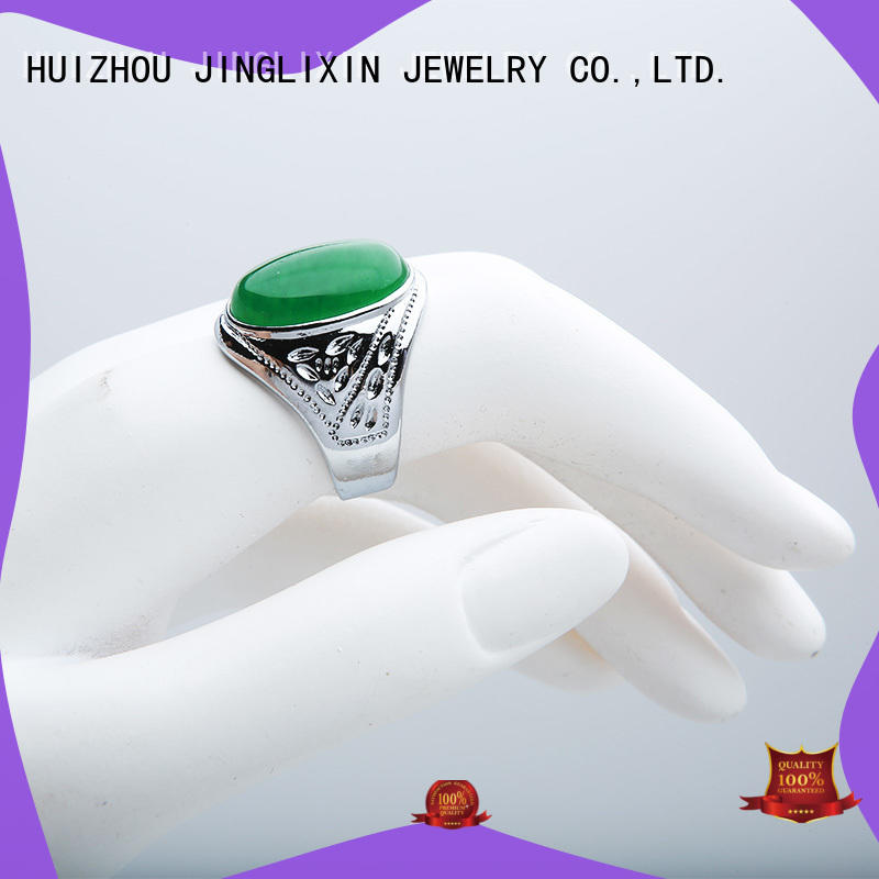 hot sale fashion jewelry rings r for male JINGLIXIN