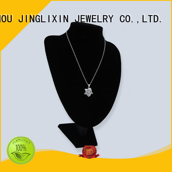 semiprecious custom necklace for her with name for women JINGLIXIN