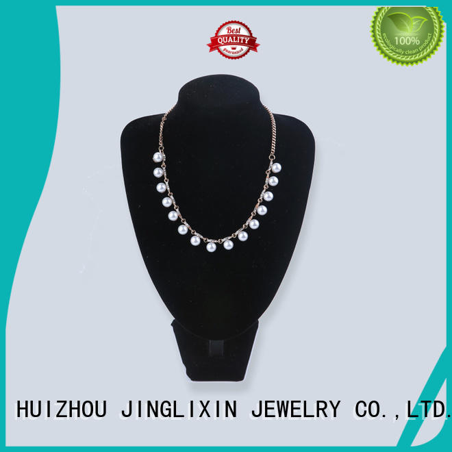 white long costume necklaces laser engraving for gifts JINGLIXIN