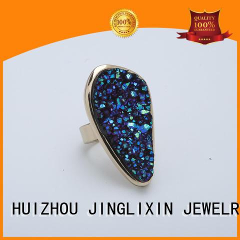 alloy silver 925 custom ring JINGLIXIN Brand