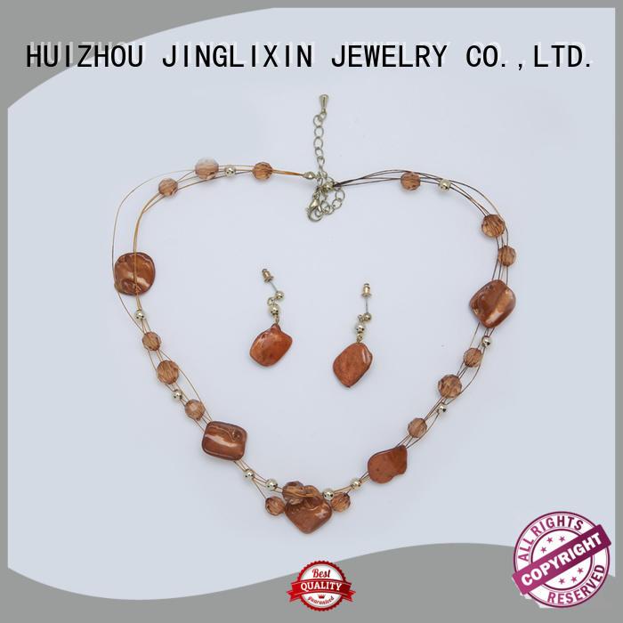 JINGLIXIN zircon girls jewelry set for party