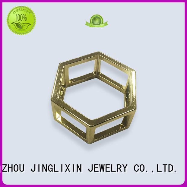 plated cufflinks silk jewelry accessories JINGLIXIN
