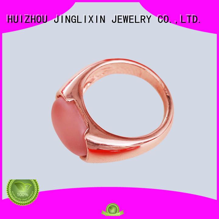 Custom stone wholesale fashion rings ore JINGLIXIN