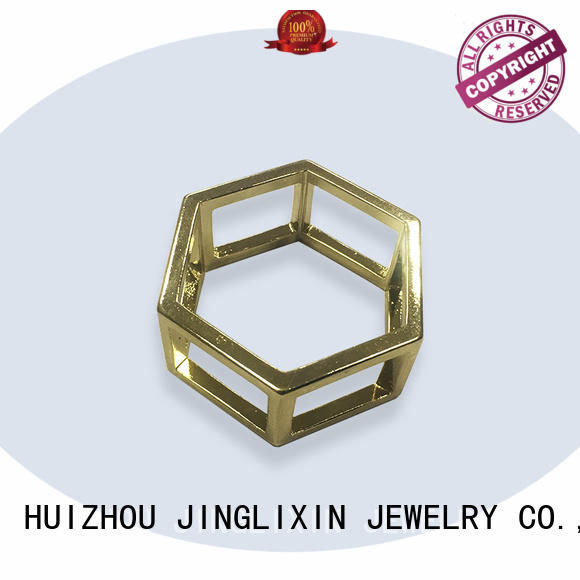 JINGLIXIN copper scarf brooch clip rhinestones for sale