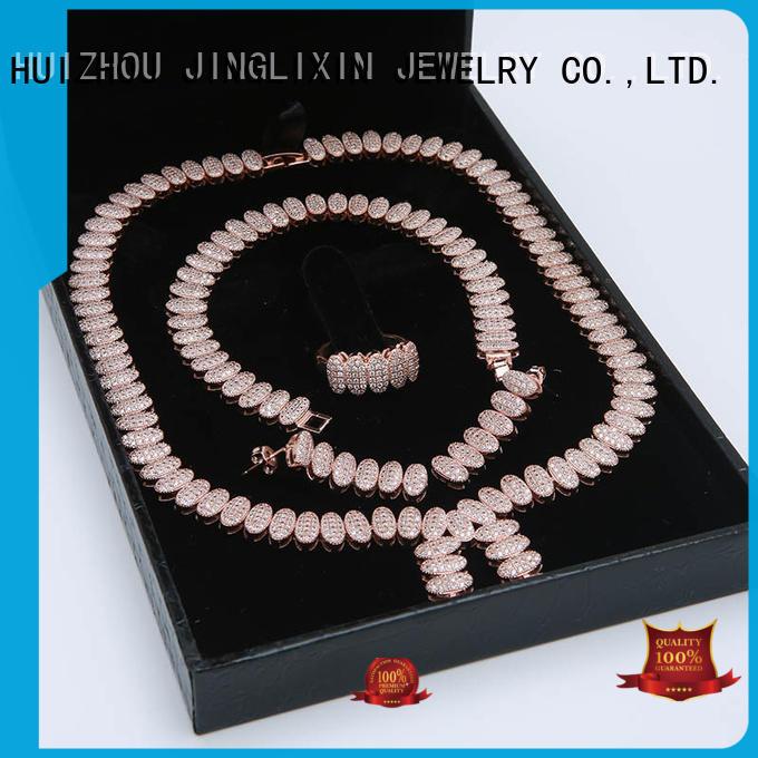 custom design evening jewelry sets manufacturer for sale JINGLIXIN