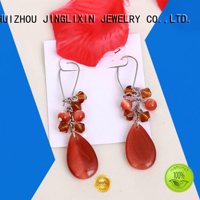 abs custom earrings hot sale for sale JINGLIXIN