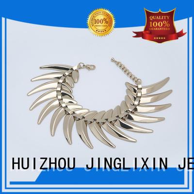 JINGLIXIN personalized custom metal bracelets oem service for sale