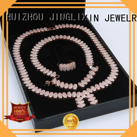 JINGLIXIN fine jewelry sets maker for present