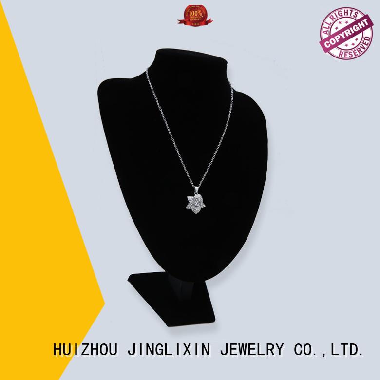 Wholesale white rhinestones necklace JINGLIXIN Brand