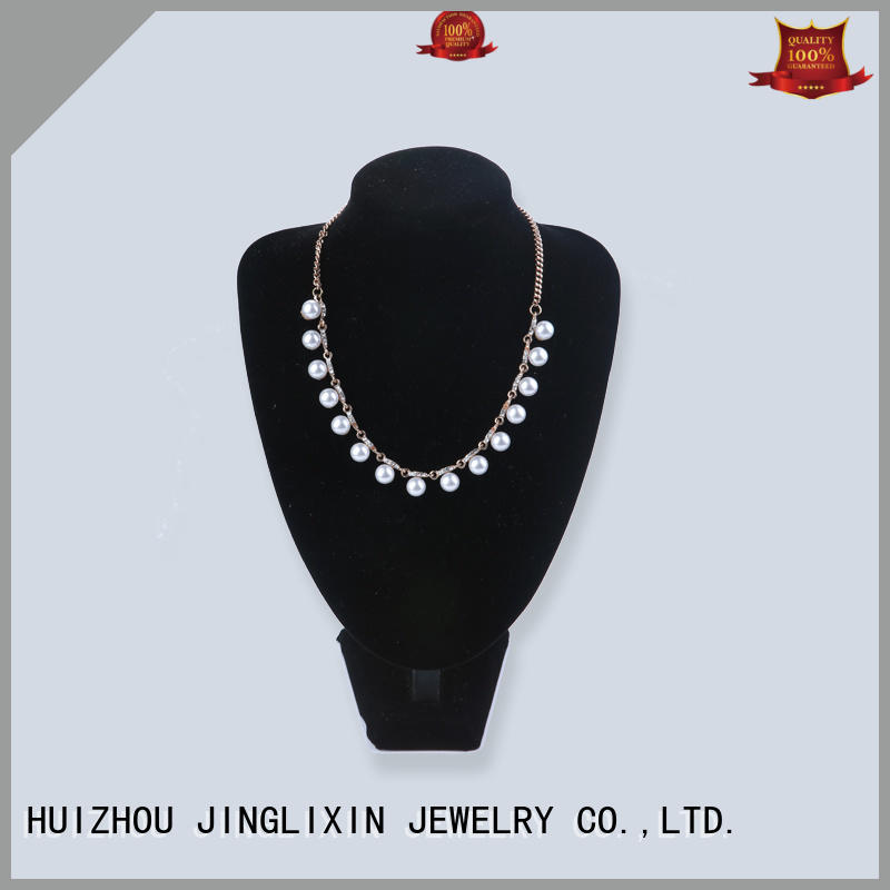 professional gold fashion necklace with name for women JINGLIXIN