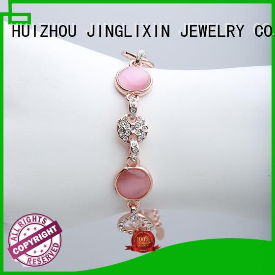 wrist custom bracelet oem service for ladies JINGLIXIN