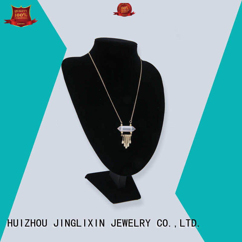 JINGLIXIN semiprecious long costume necklaces factory for party